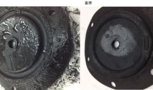 使用して数ヶ月で、バスタブや洗面台から 黒水が発生。